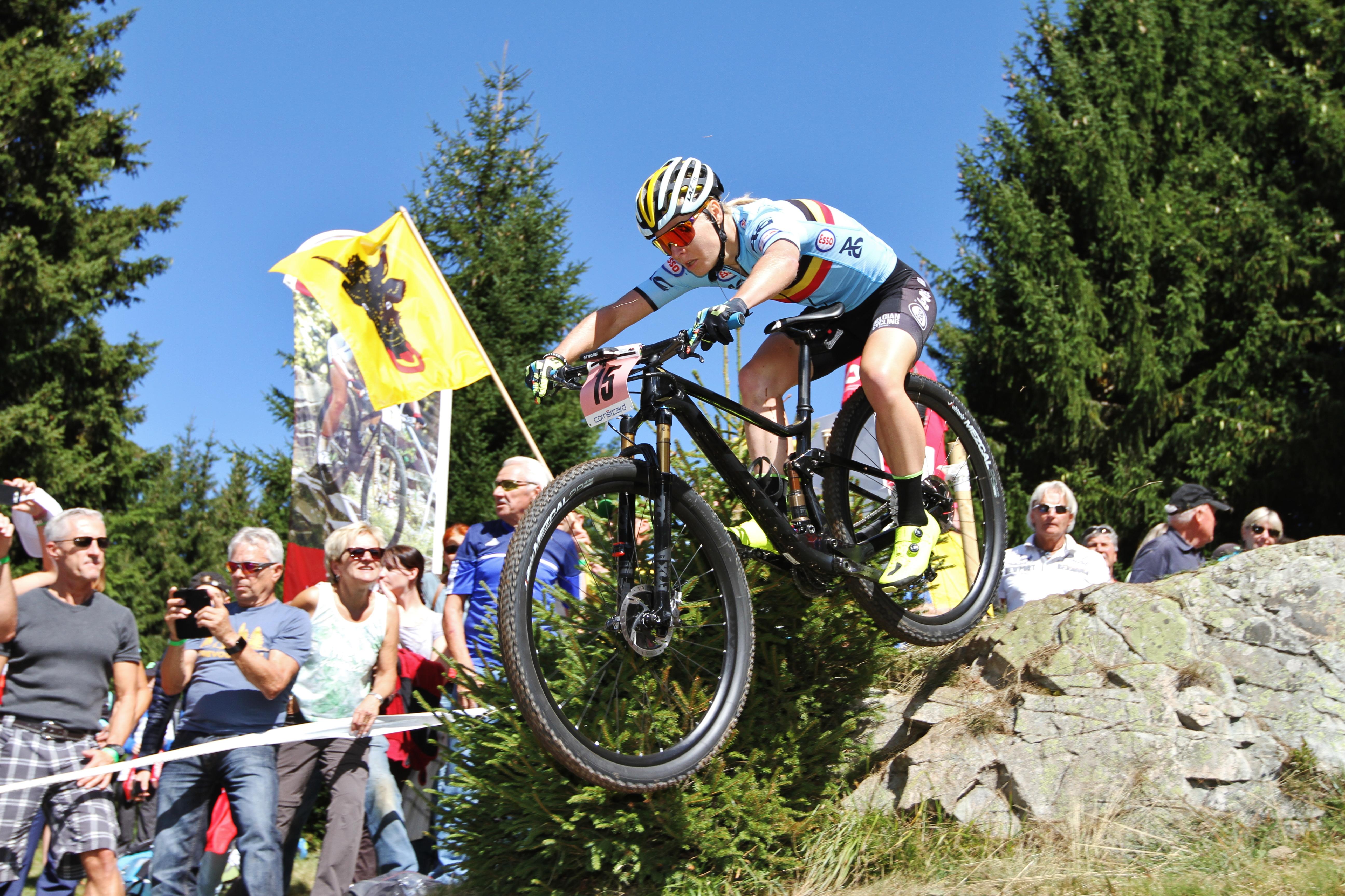 Githa Michiels krijgt statuut bij Sport Vlaanderen