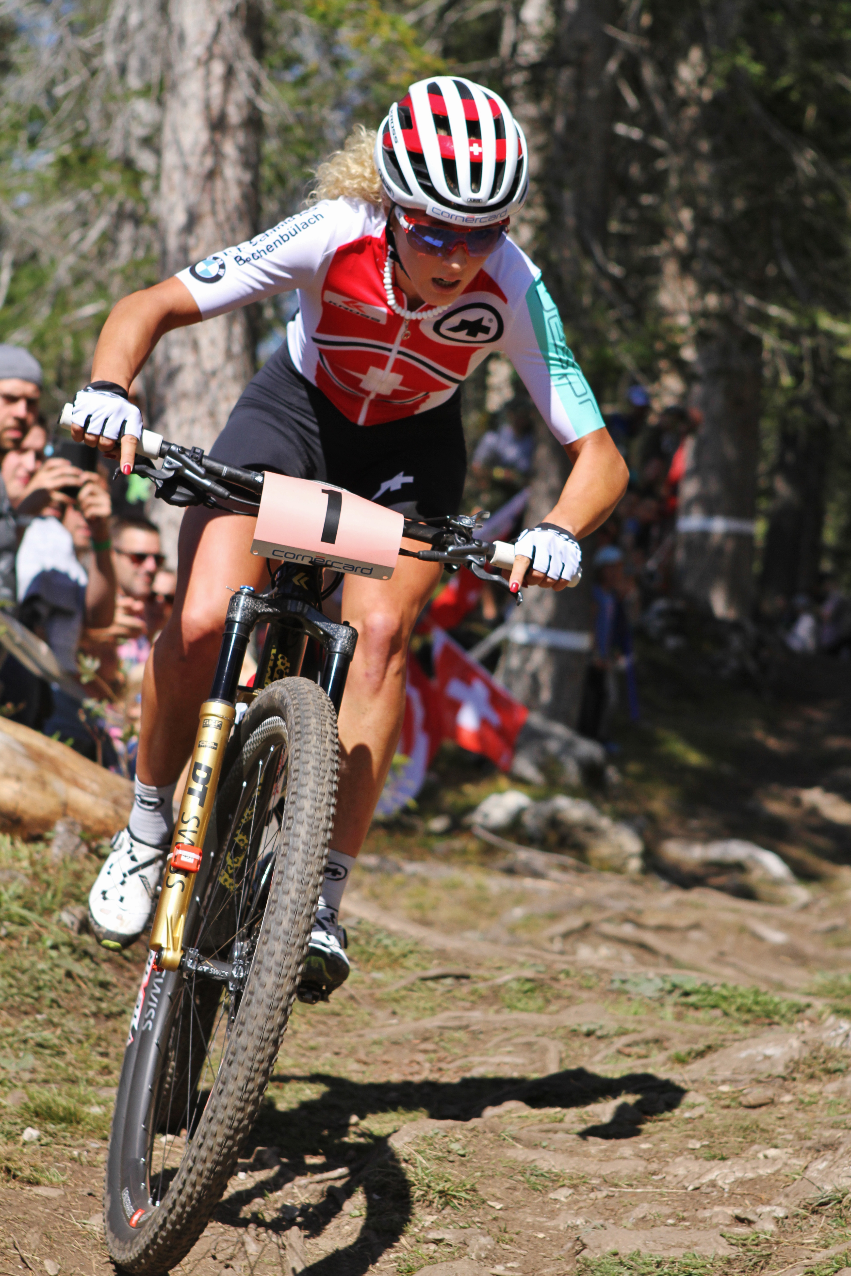 Jolanda Neff verheugt zich op een 'hoogtepunt' in Heubach