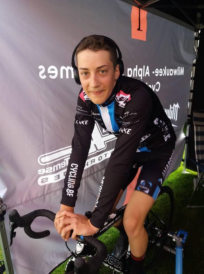 Drie podiumplaatsen in Roeselare voor Milwaukee Alphamotorhomes Cycling Team