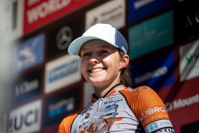 Anne Tauber verlengt contract tot Tokio bij CST Sandd American Eagle mountainbike racing team