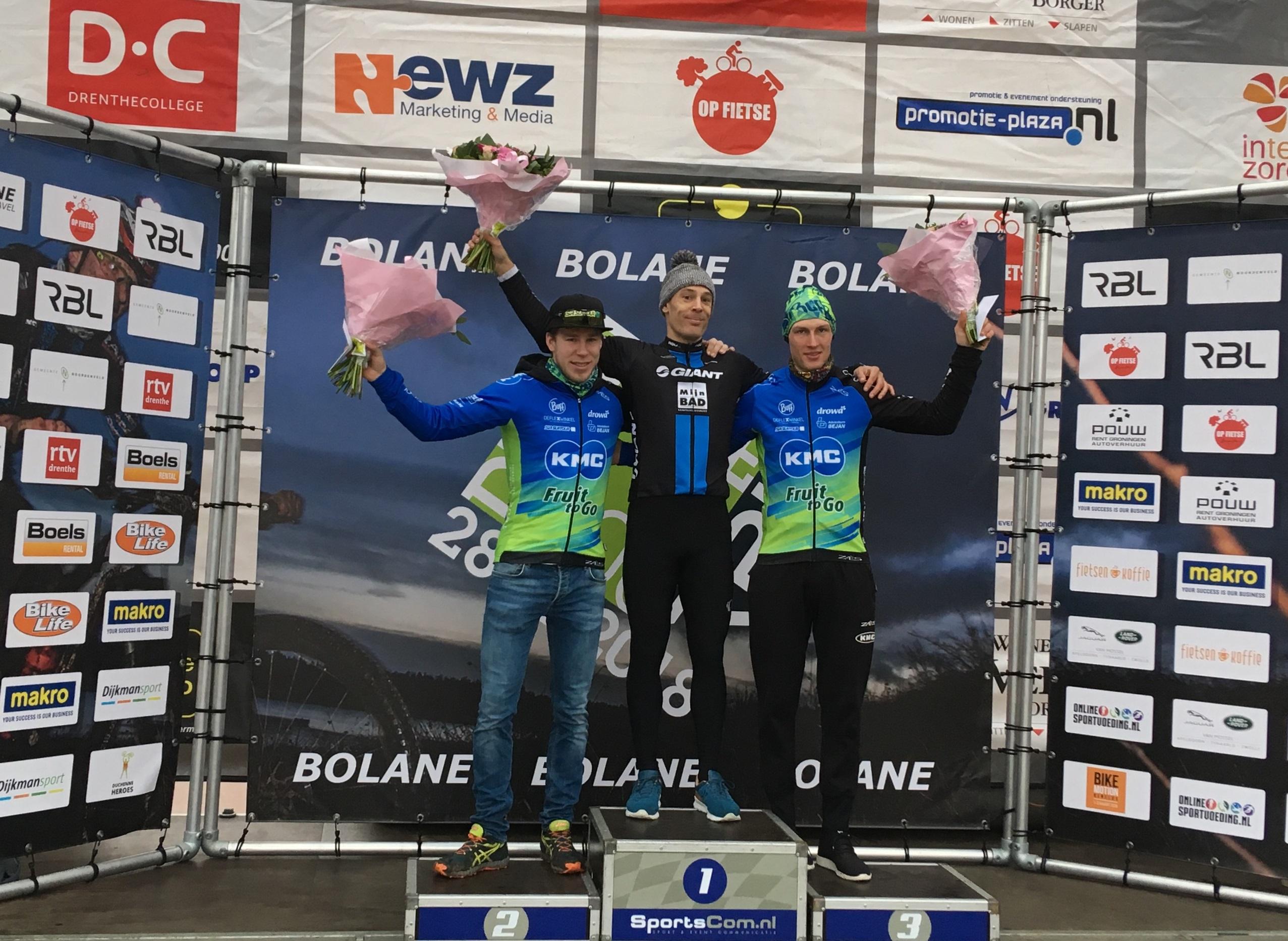 Roel Verhoeven en Gerben Mos op podium in Drenthe 200