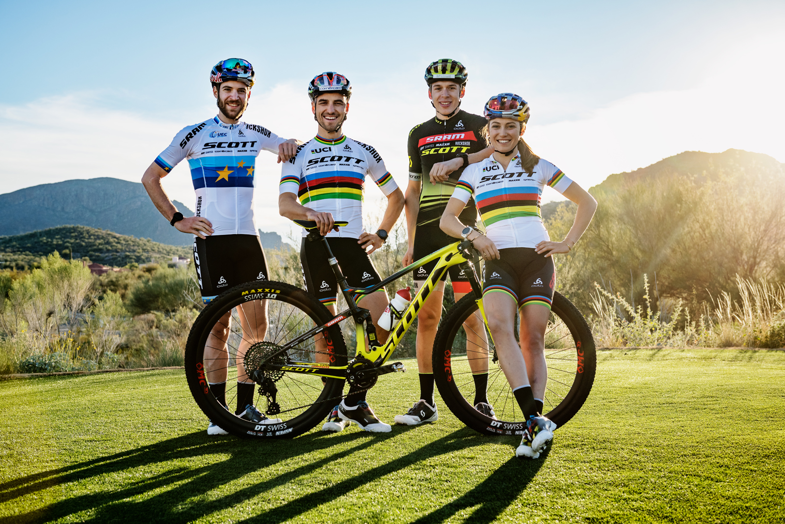 Scott-Sram MTB racing team vol optimisme naar Cape Epic