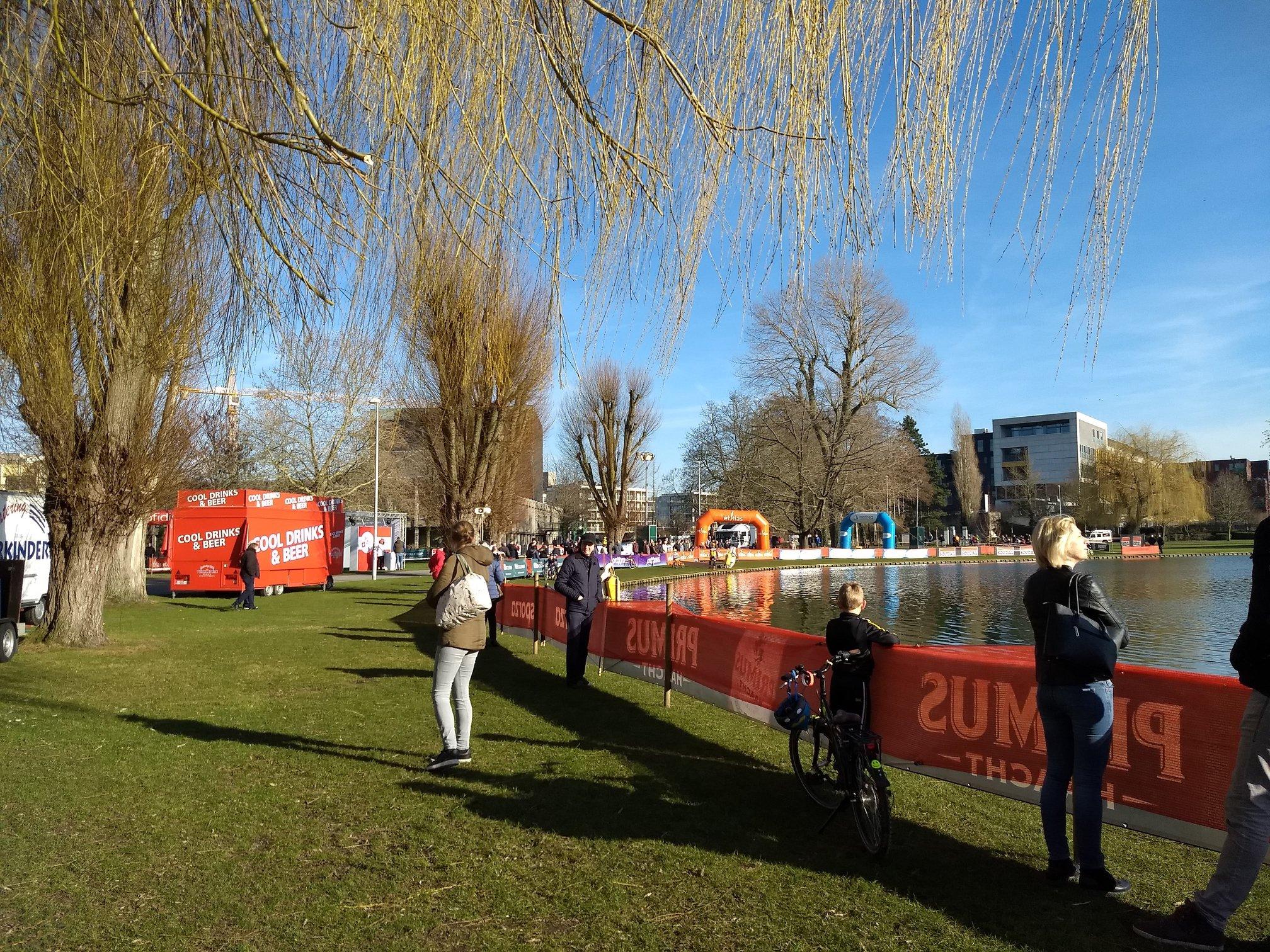Toon Aerts en Helen Wyman zijn de winnaars in de Soudal Cyclocross Masters te Waregem