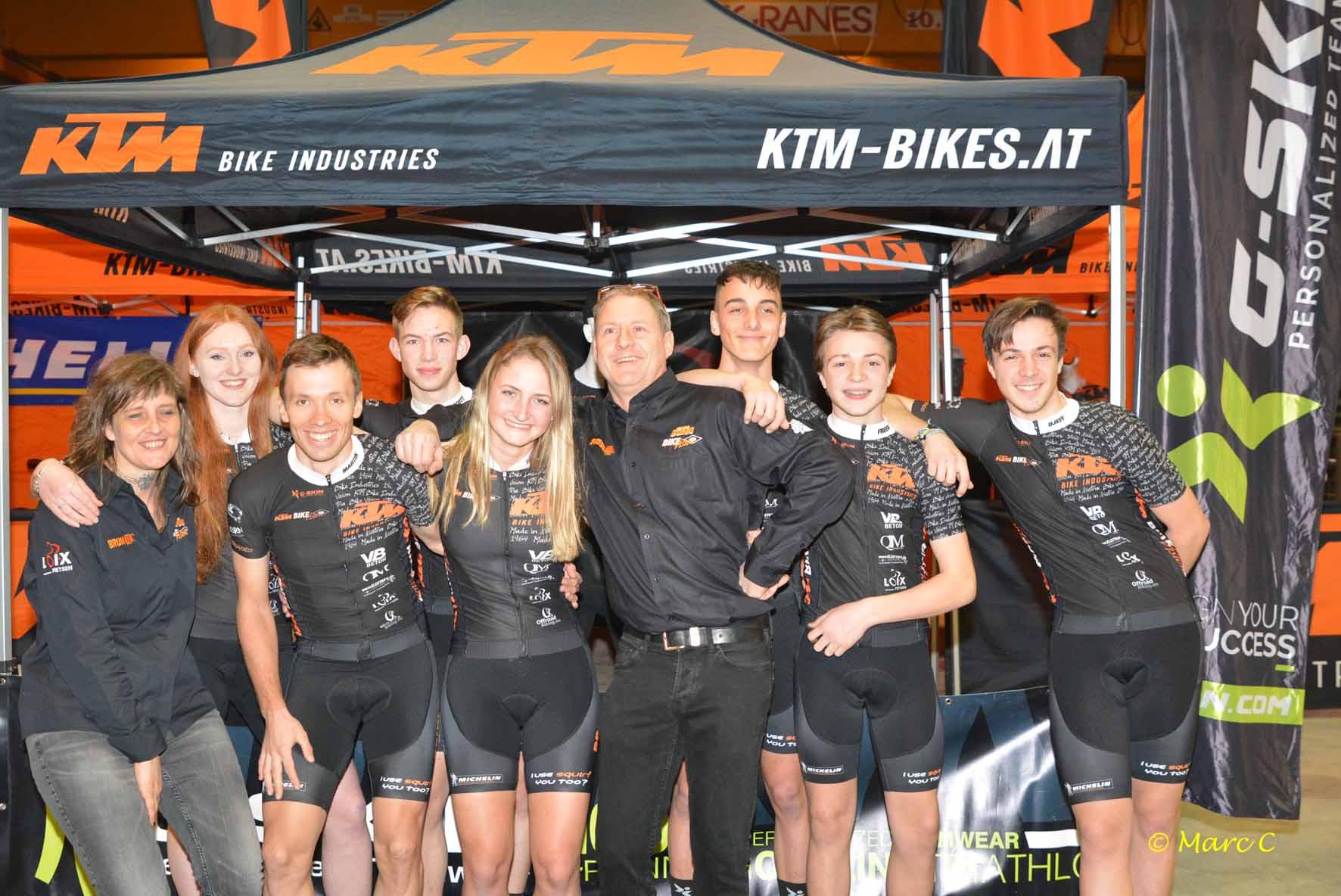 KTM BikeVision MTB team 2019 voorgesteld