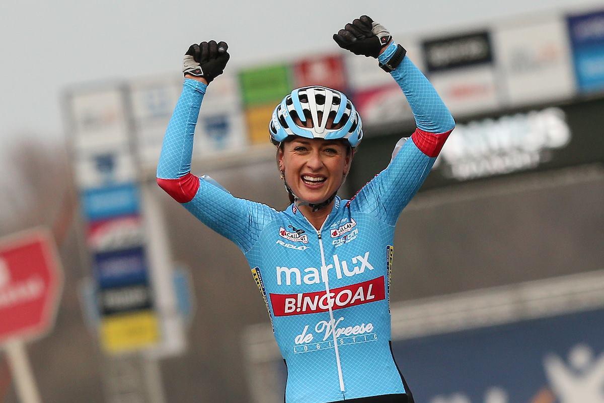 Betsema zette haar beste beentje voor in de Parkcross in Maldegem