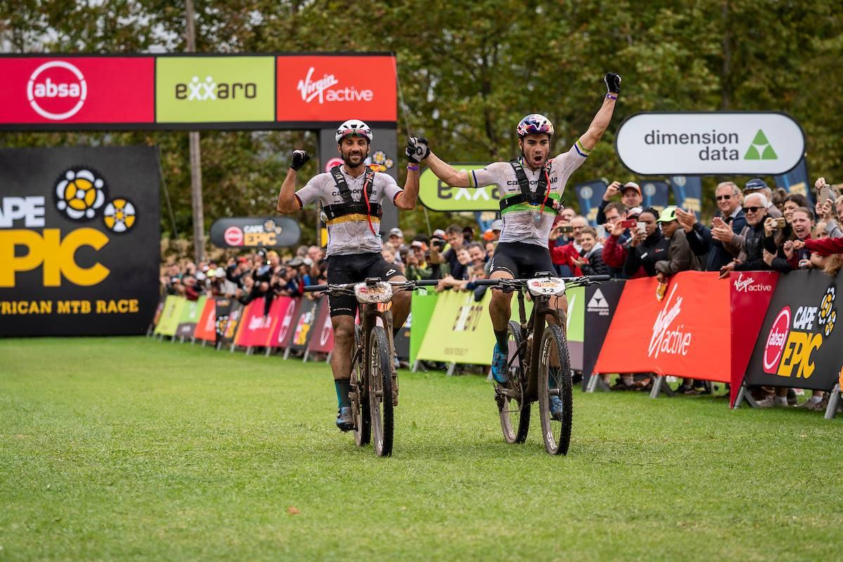 Fumic-Avancini winnen derde rit en zijn nieuwe leiders in Cape Epic