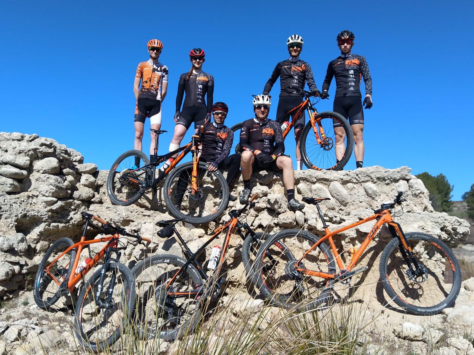 KTM Bikevision MTB team op stage in Spanje(dagboek deel 3)