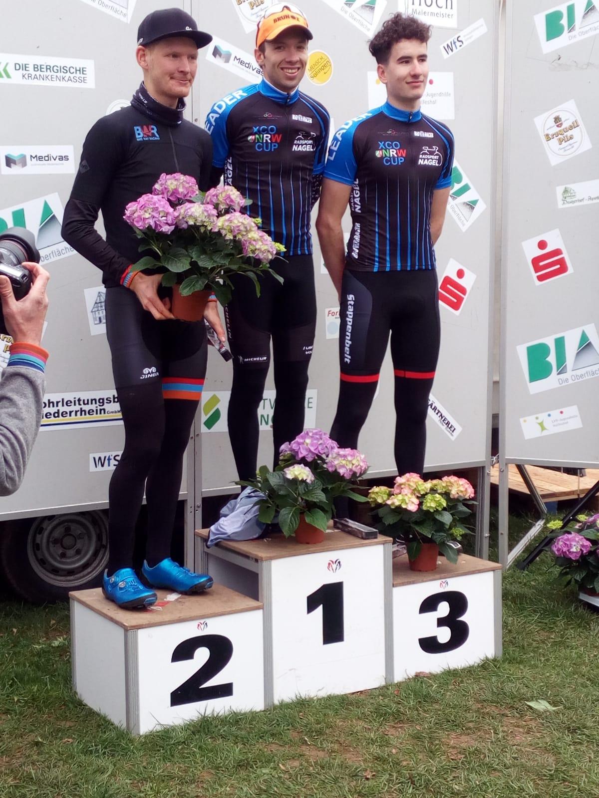 Martin Fanger wint 3Nationscup in Solingen