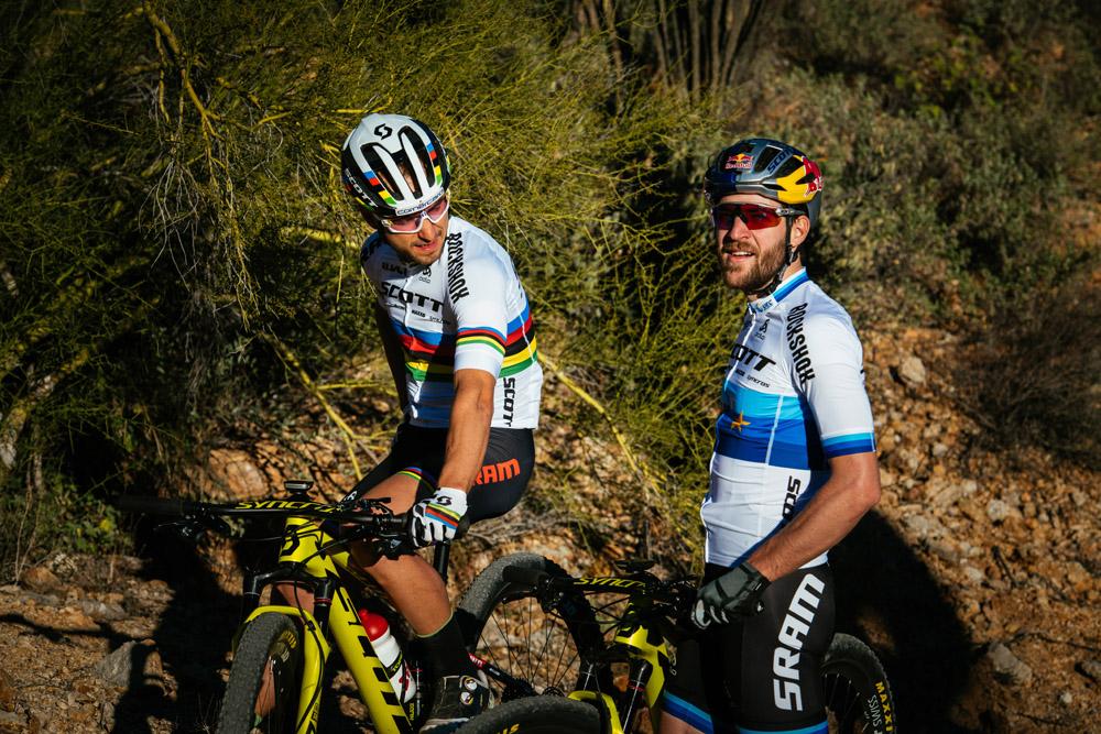 Nino Schurter en Lars Forster gaan voor eindzege in Cape Epic