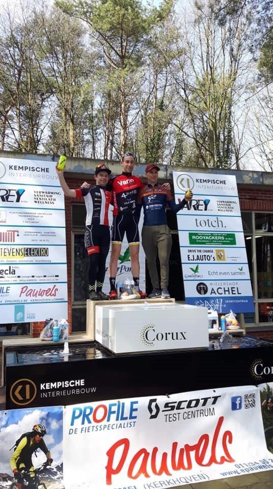 MTB Vanomobilcycling verzamelt 5 podiumplaatsen op drie verschillende wedstrijden