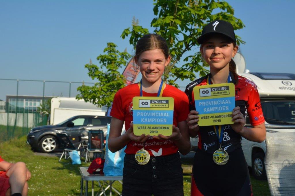 Twee provinciale titels in het mountainbiken voor MTB Vanomobilcycling