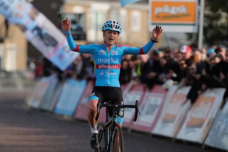 Denise Betsema gepakt met doping na wereldbeker veldrijden in Hoogerheide