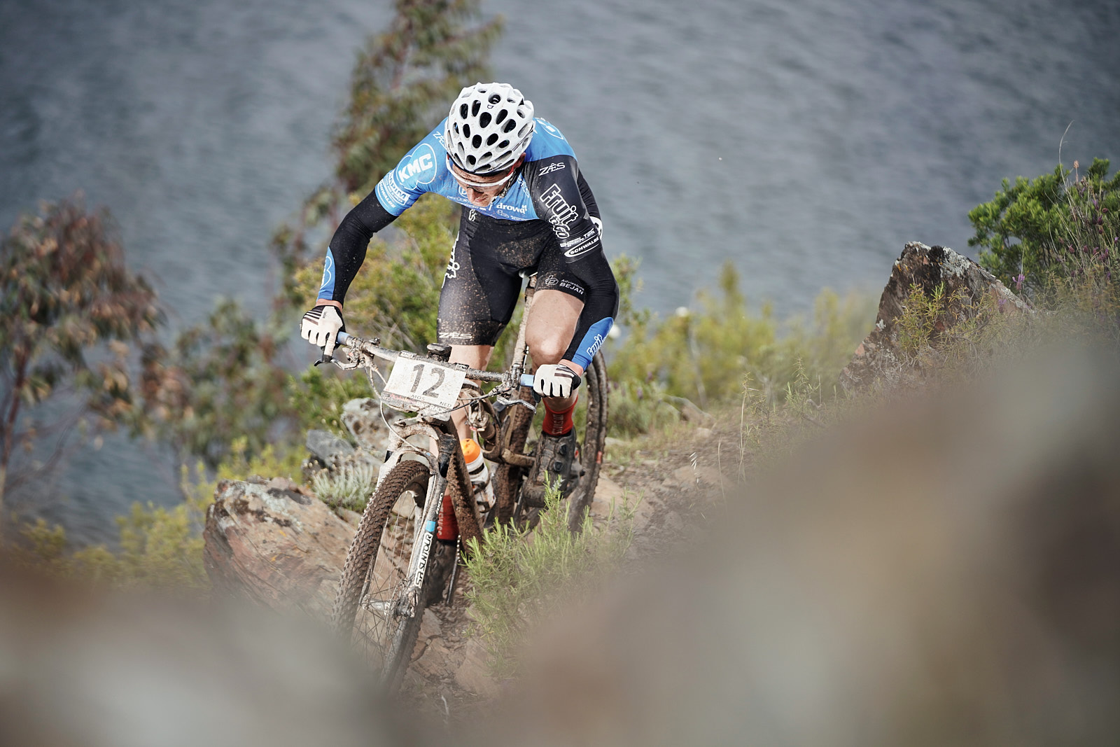 Brouwer-Trommer winnen de proloog van de '4 Islands MTB stage race'