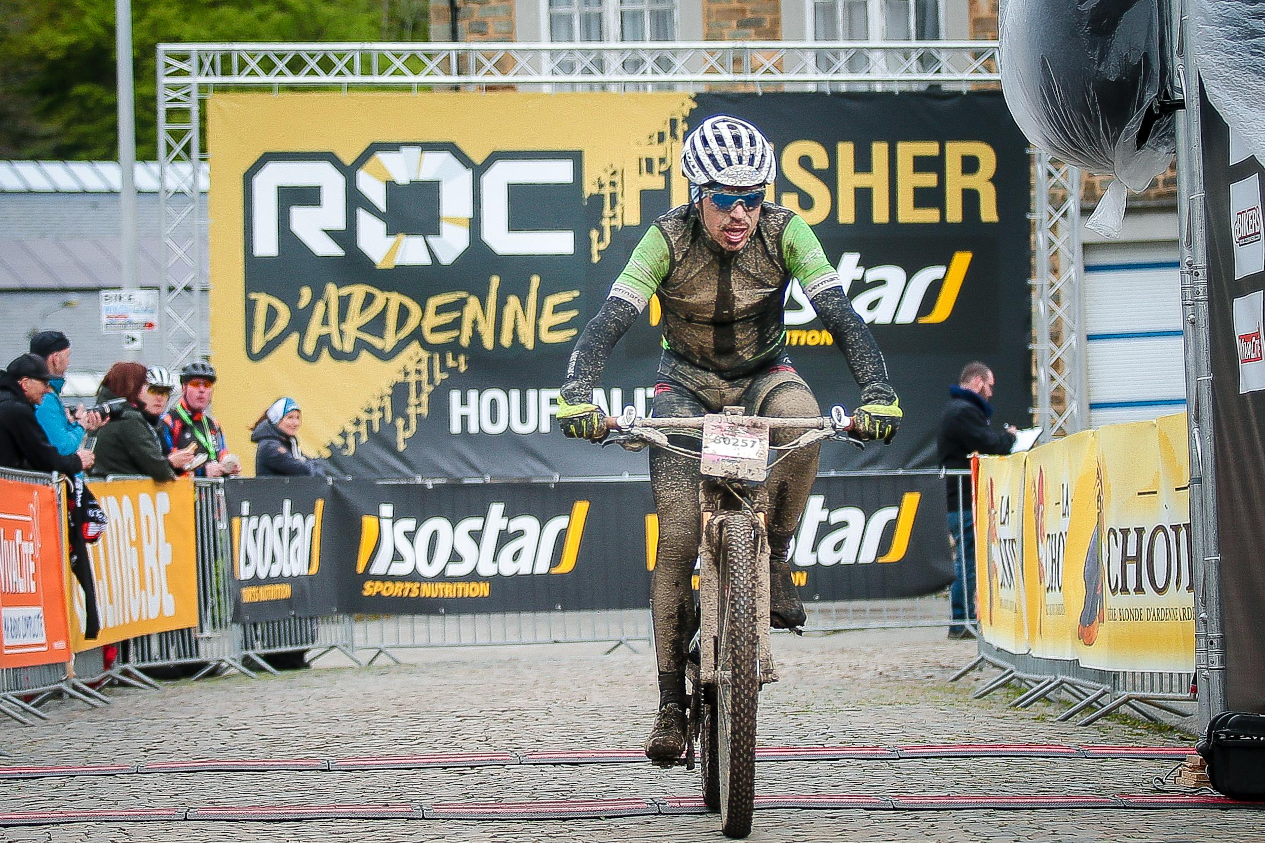Frans Claes vierde in Big Roc Marathon in Houffalize