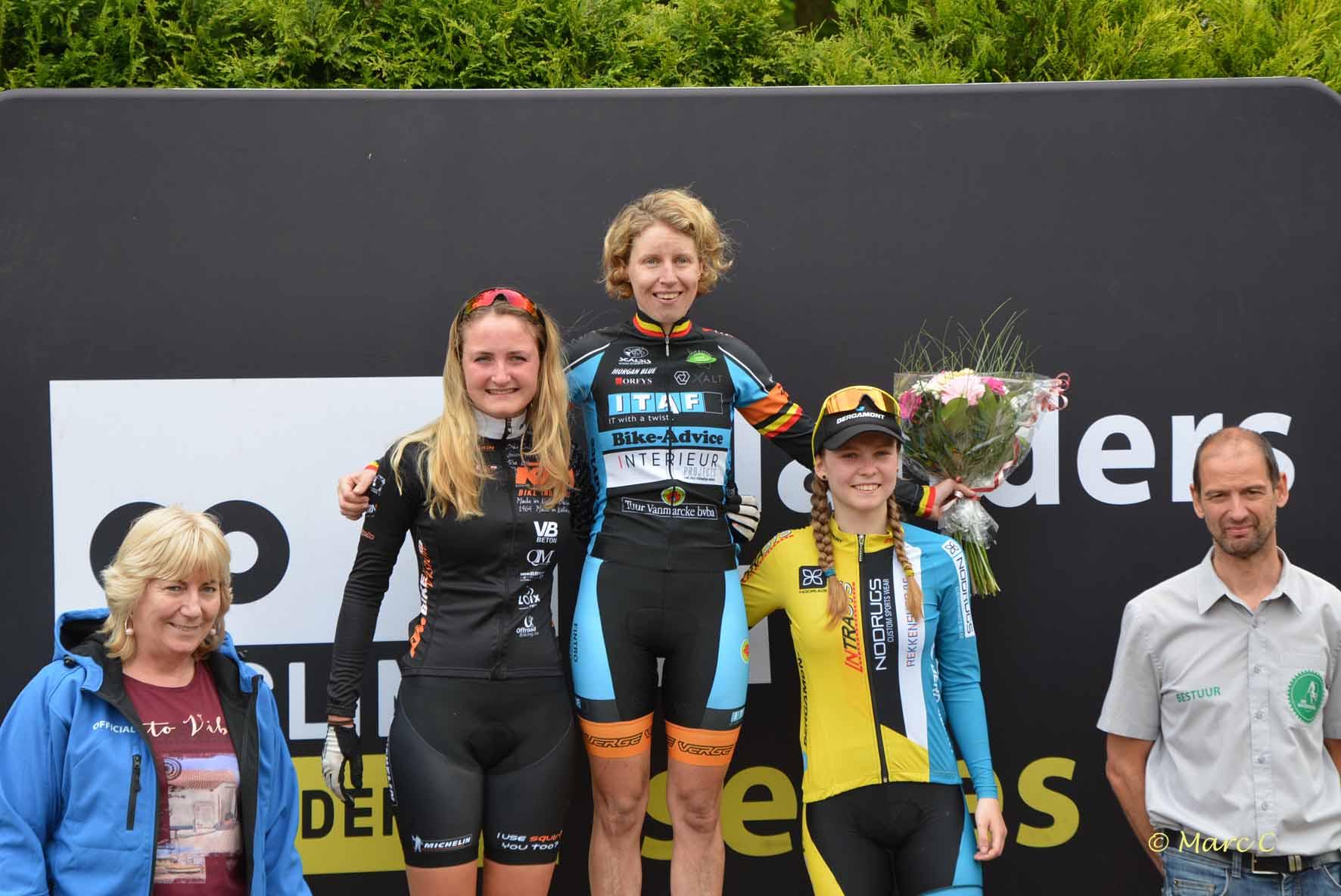 Didi de Vries tweede in Flanderscup Moerbeke-Waas