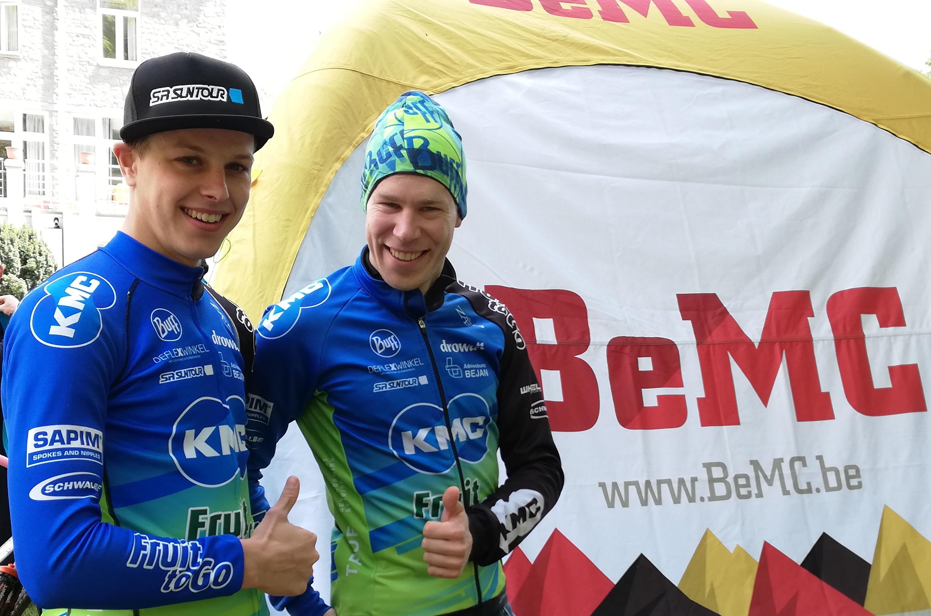 Tim Smeenge en Roel Verhoeven sterk in de BeMC