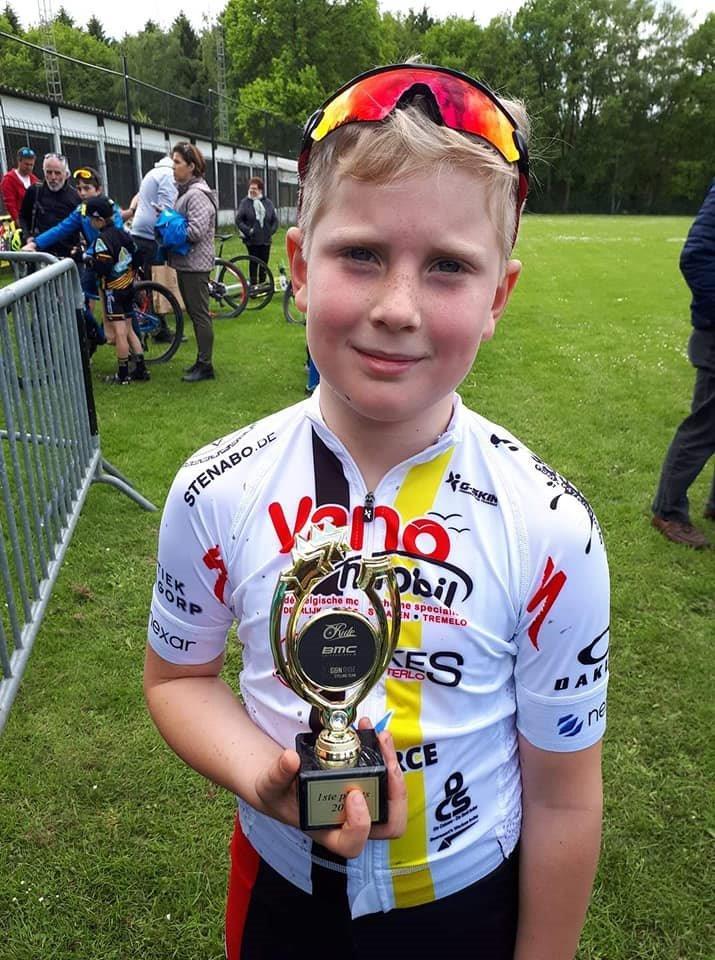 Vanomobil Cycling MTB Team goed op dreef. Dit weekeinde opnieuw zes podiumplaatsen in vier verschillende wedstrijden