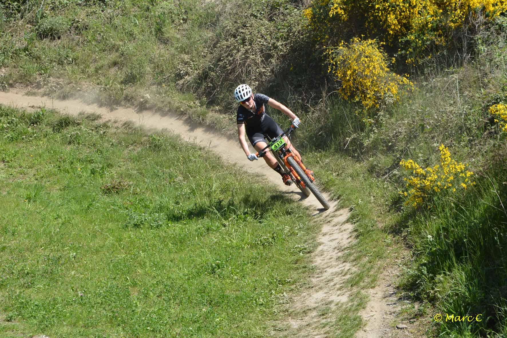 KTM Bikevision knap bezig in Houffalize