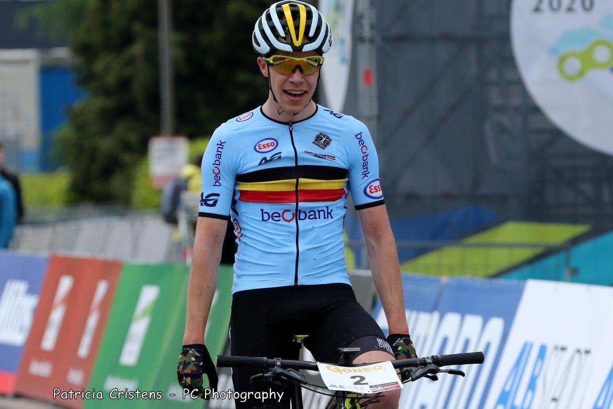 Lukas Malezsewski Europees kampioen junioren