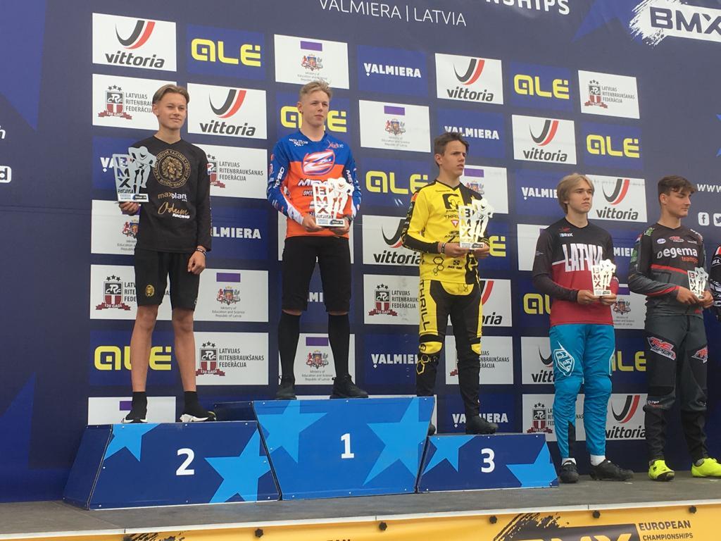 Wannes Magdelijns verlengt Europese titel BMX