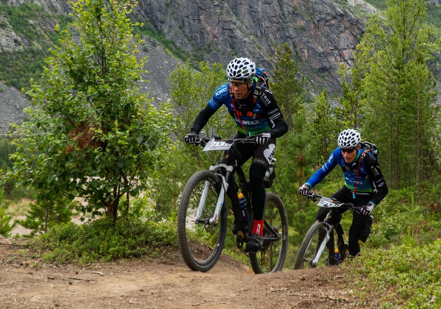 Bram Rood en Ramses Bekkenk tweede in Offroad Finnmark 700