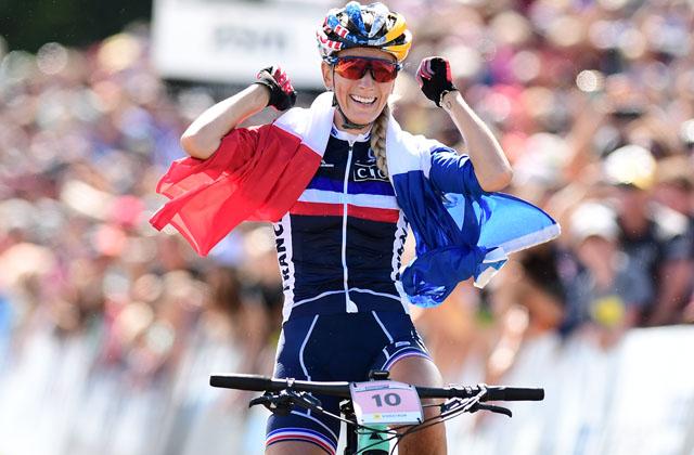 Pauline Ferrand-Prévot wereldkampioene in Mont-Sainte-Anne
