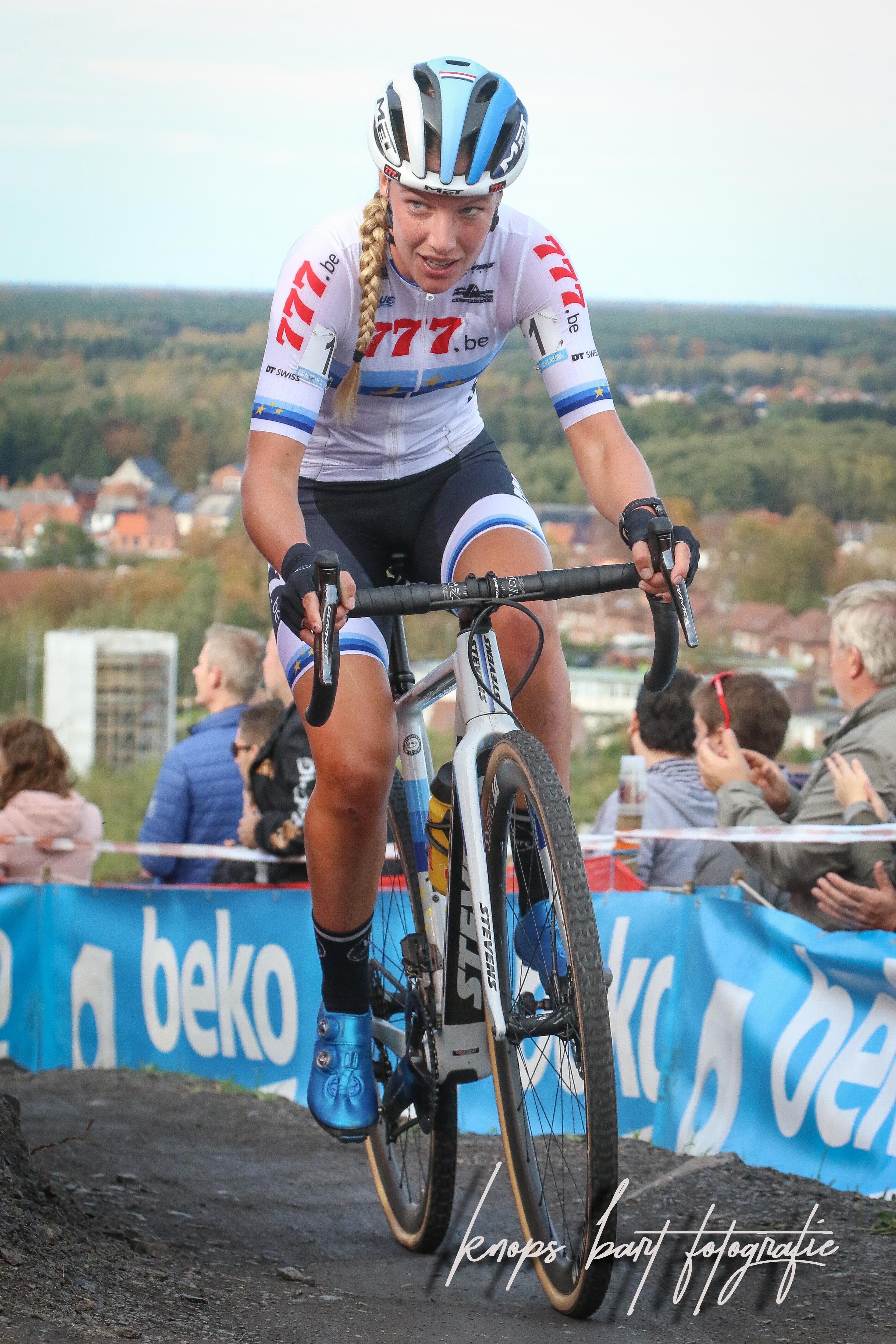 Annemarie Worst pakt zege in Beringen