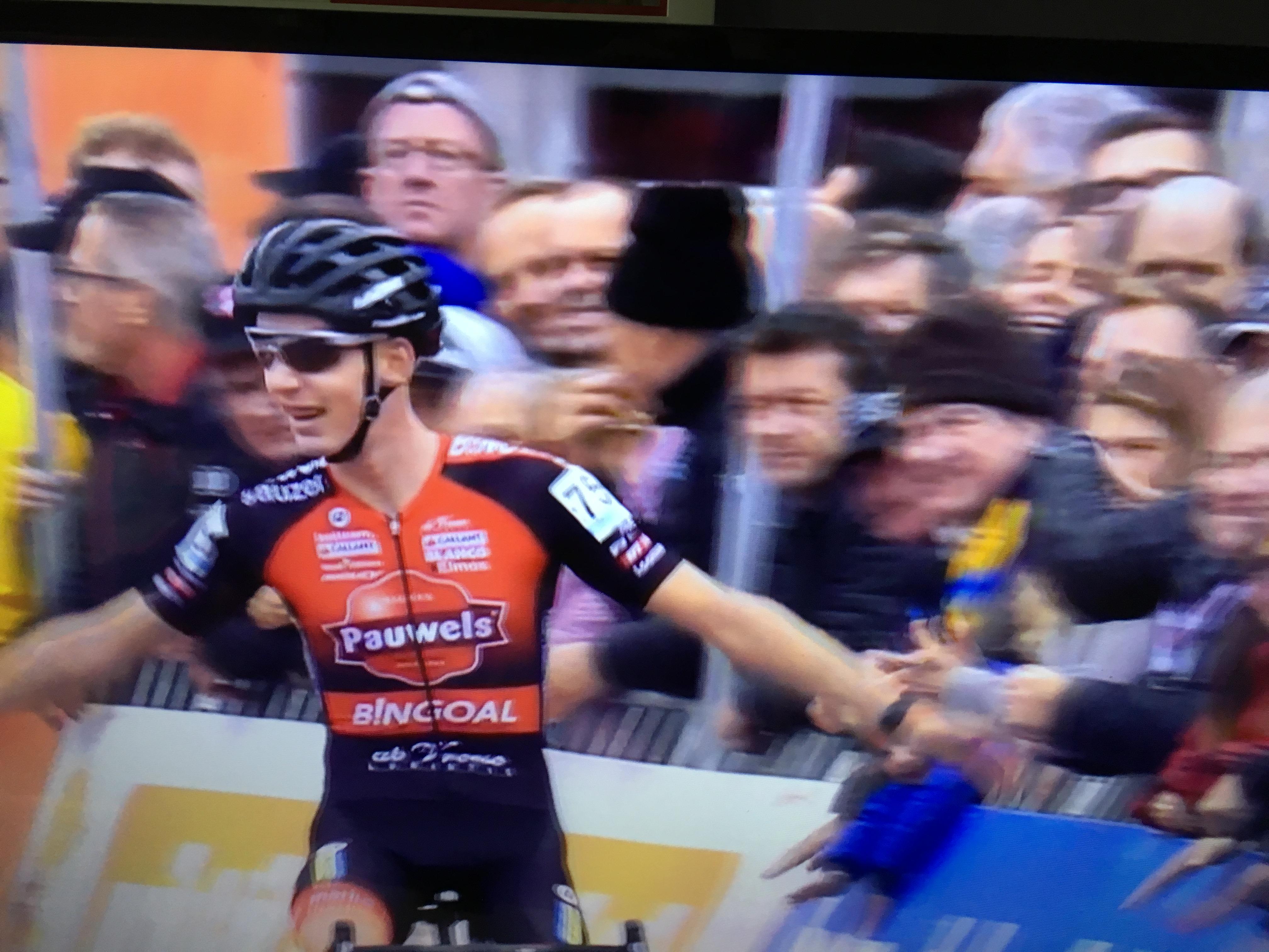 Michael Vanthourenhout wint Berencross in Meulebeke