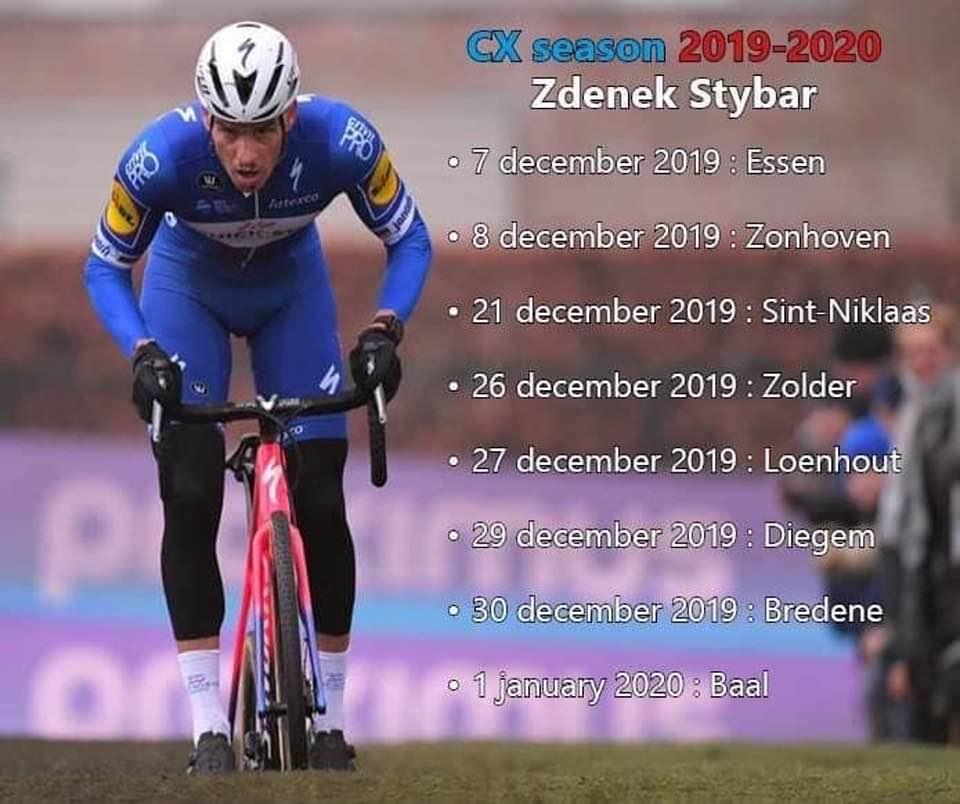 Zdenek Stybar maakt zijn veldritkalender 2019-2020 kenbaar