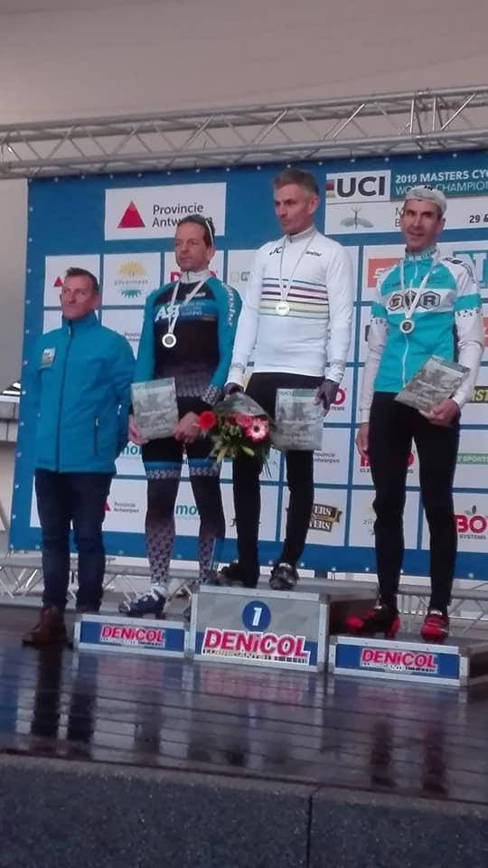 Dirk Mertens is wereldkampioen bij de masters