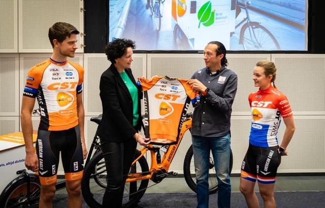 Post.nl sponsort CST PostNL Bafang MTB Racing team