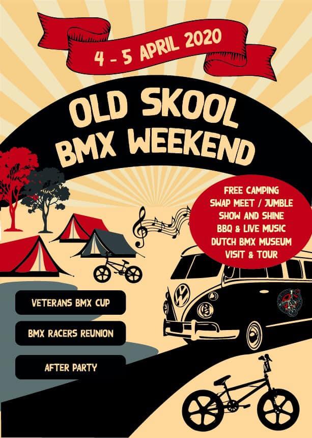 Old School BMX weekend op 4 en 5 april