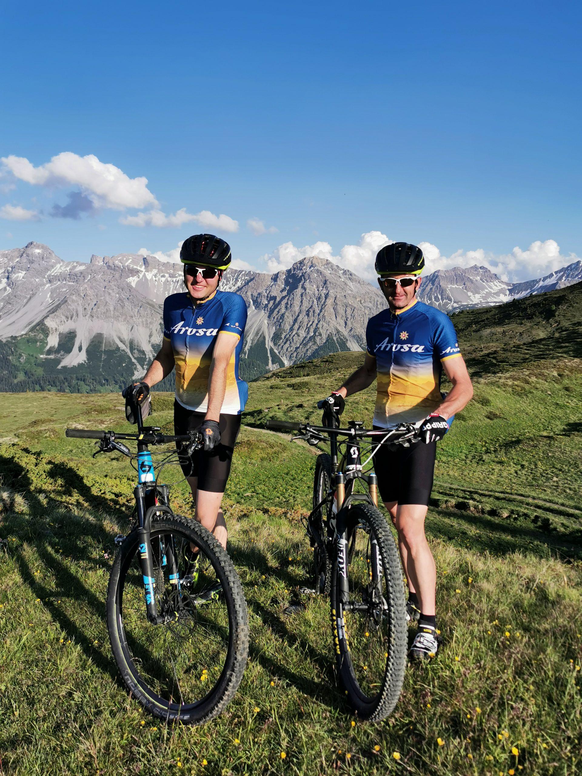 Swiss Epic te gast in Arosa