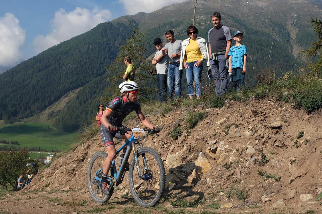 Frans Claes in top 10 in open Zwitsers kampioenschap