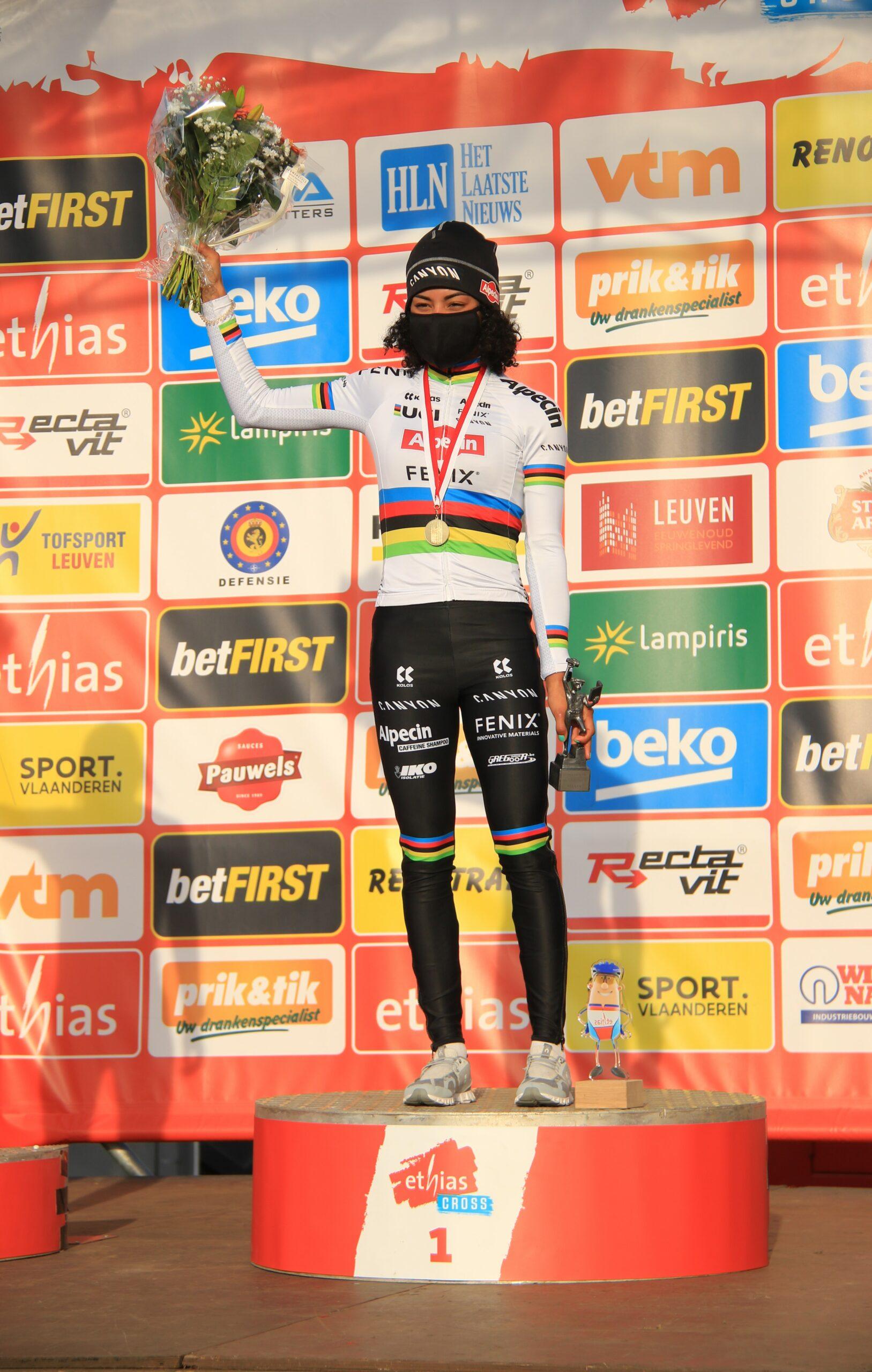Wereldkampioene Alverado neemt winst in Leuven