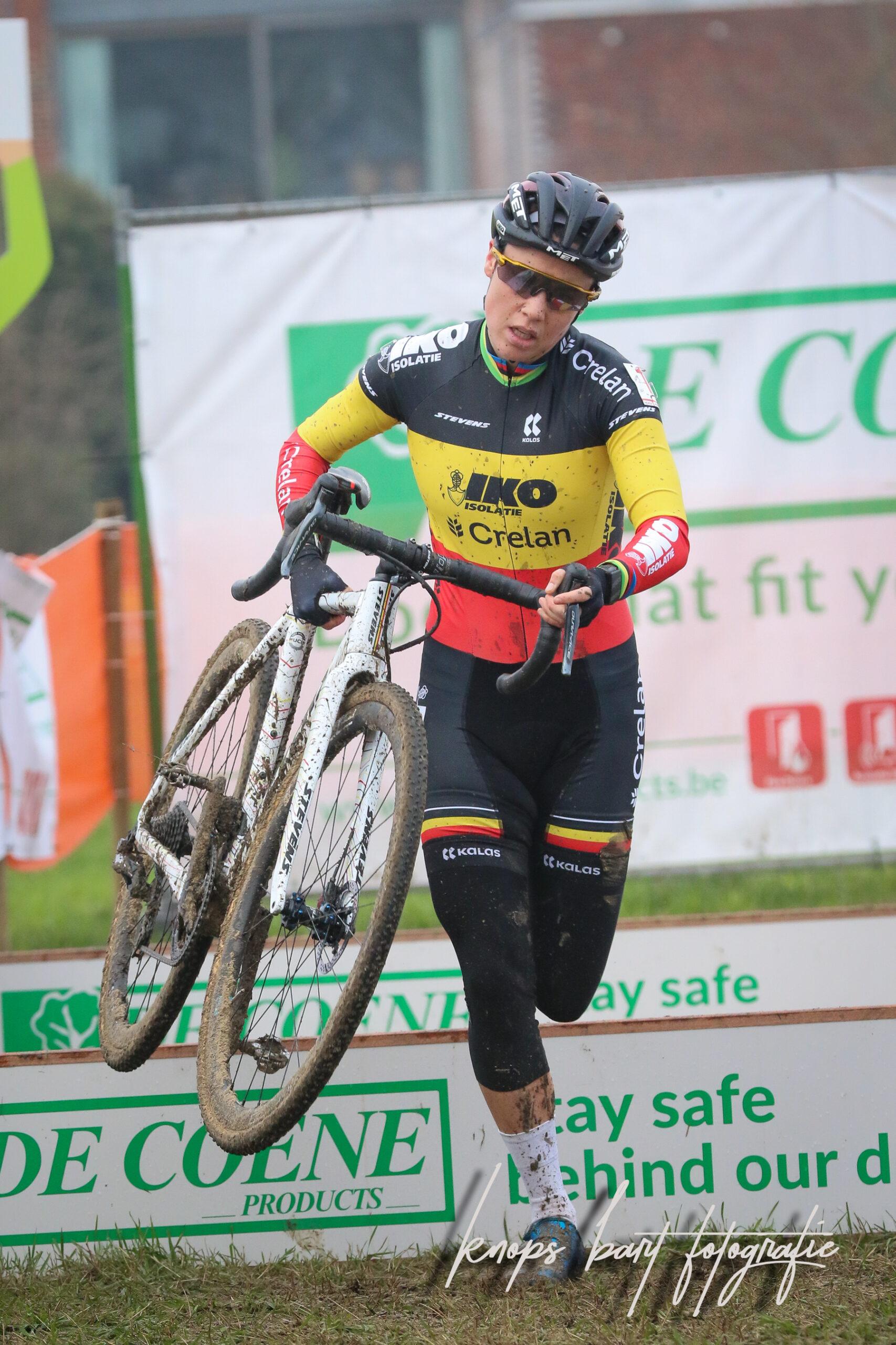 Sanne Cant pakt haar 12 de Belgische titel op rij