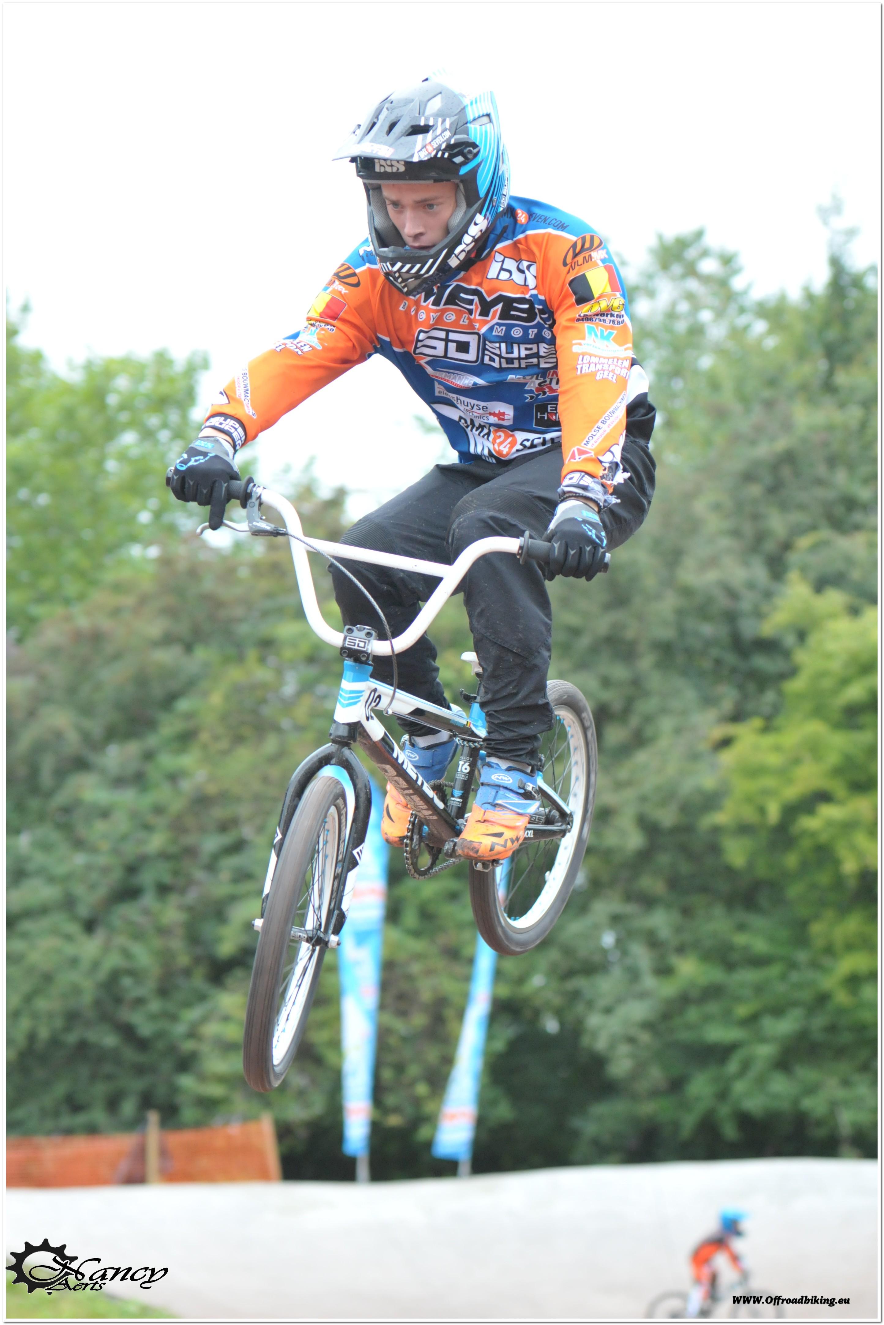 Even een schets van de ambities van een jonge Belgische talentvolle BMX-er Joffrey Wouters