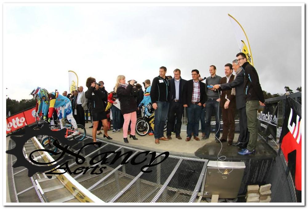 Officiële inhuldiging van de 8 meter in Zolder