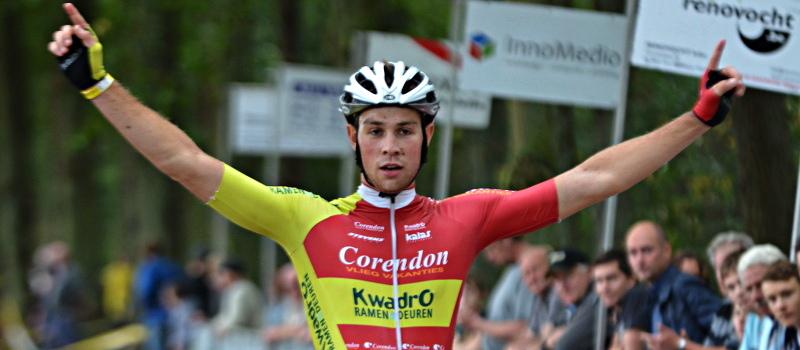Florian Vermeersch pakt 12e zege van het seizoen in Hamme Zogge