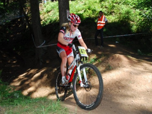 Githa Michiels zevende in Bad Sackingen