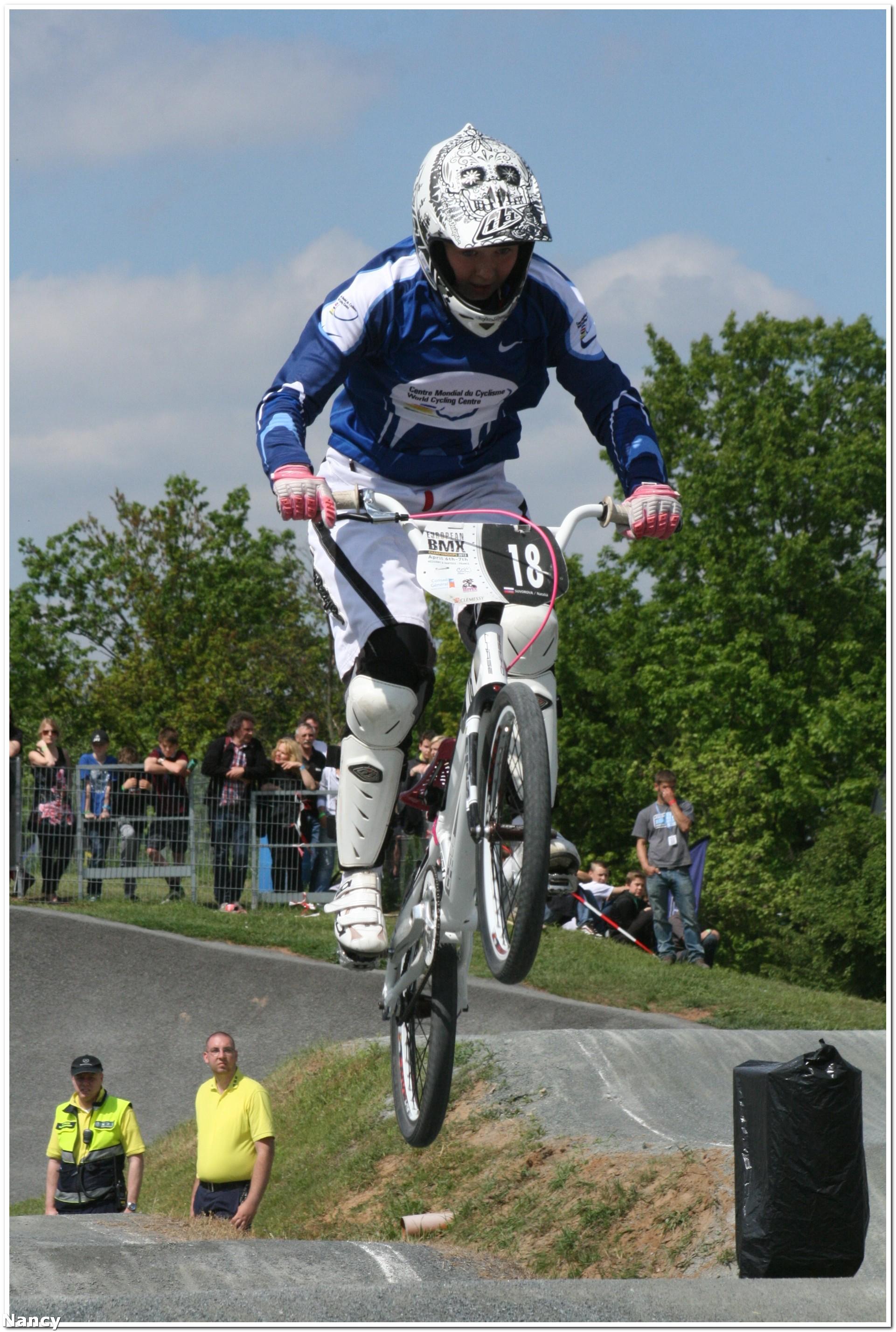 Brett Jacobs wint bij de Boys 14 in EK Ronde Weiterstadt