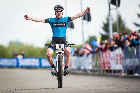 Jens Schuermans wint in Offenburg