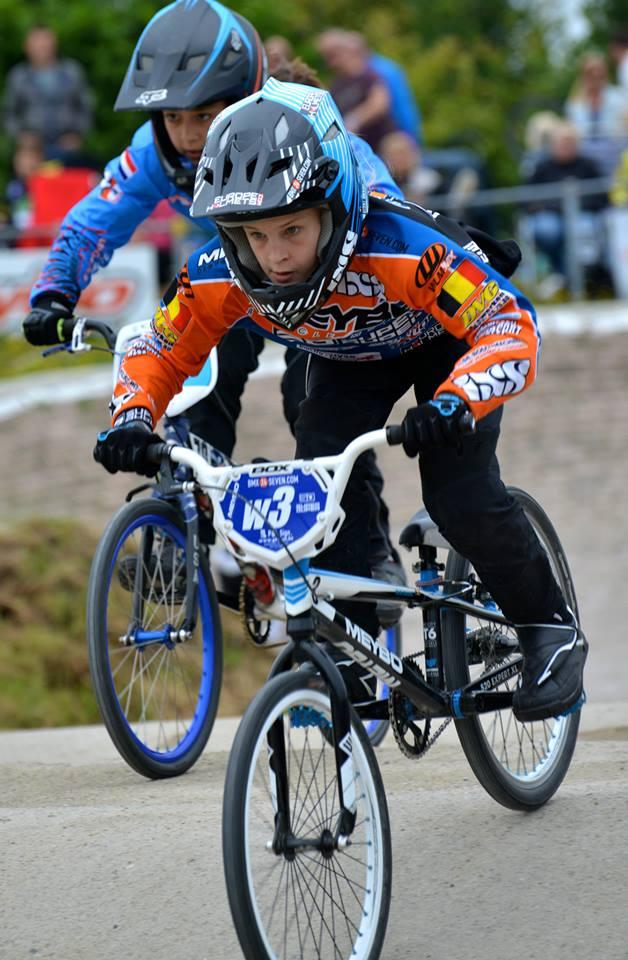 Marthe Goossens nieuwe aanwinst van MEYBO BMX Bikes Factory Team Belgium