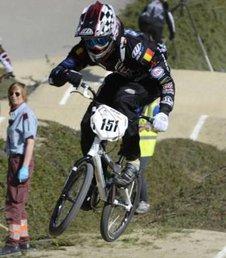 Stijn Strackx, de grote verrassing op het EK BMX bij de boys 17-24