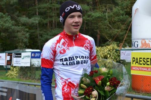 Dennis Blommen is Limburgs nieuwelingenkampioen