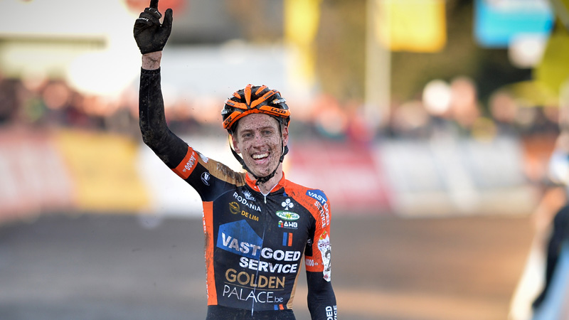 Jens Adams is de Belgische beloftenkampioen