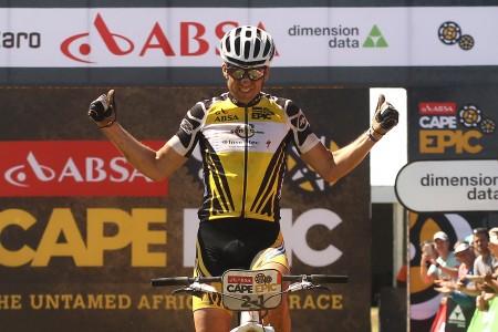 Sauser neemt optie op eindzege Cape Epic
