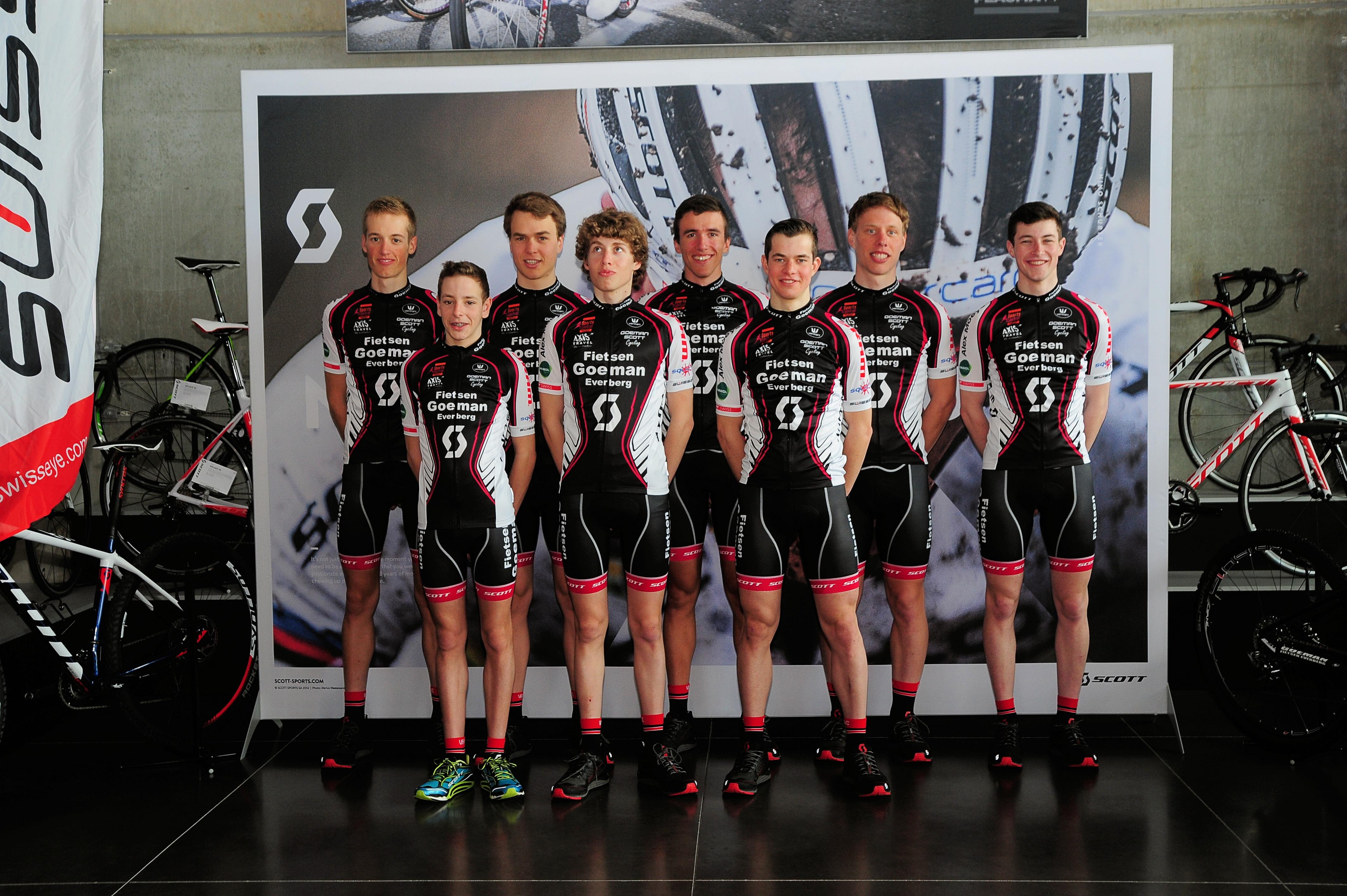 Goeman Scott cyclingteam wil internationaal scoren