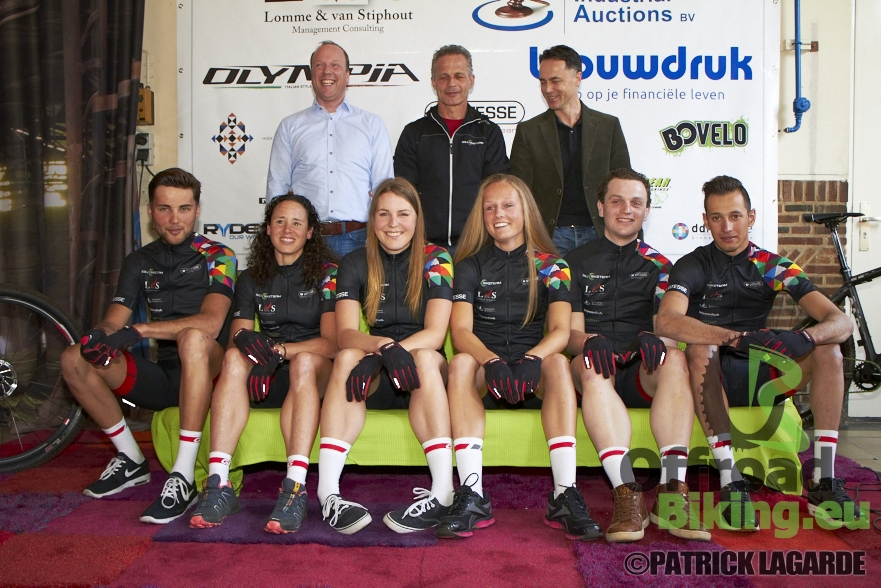 Teampresentatie SJB Mountainbike team 2015