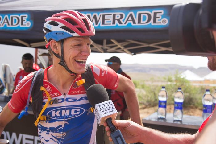 Bram Rood  wint tweede etappe in Titan Desert